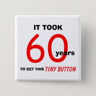 60.o Botón de los regalos de la mordaza del