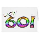 60.o CUMPLEAÑOS del wow Felicitacion