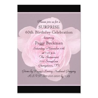 60.o Invitación de la fiesta de cumpleaños de la