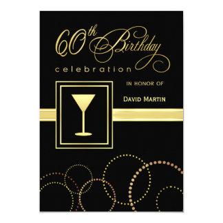 60.o Invitaciones de la fiesta de cumpleaños - con Invitación 12,7 X 17,8 Cm