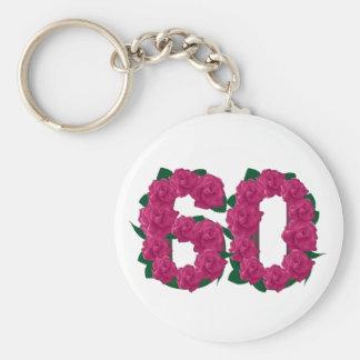 60.o llavero del aniversario de boda del