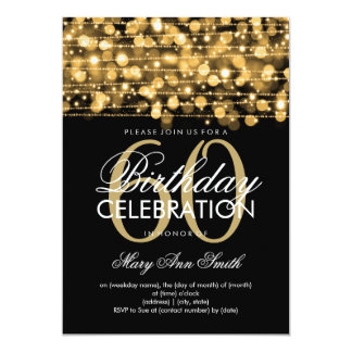 Echa un vistazo a las invitaciones para fiestas de 60 cumpleaños de Zazzle