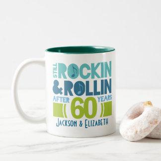 60.o Regalo personalizado aniversario de la taza