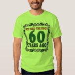 60.o Regalos del aniversario de boda Camisetas