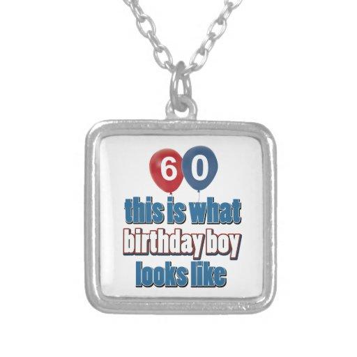 60.os diseños años del cumpleaños colgantes