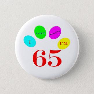 65 globos chapa redonda de 5 cm