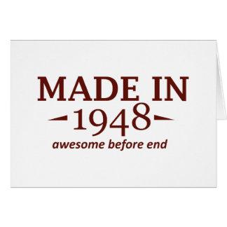 66 años de diseños tarjeta de felicitación