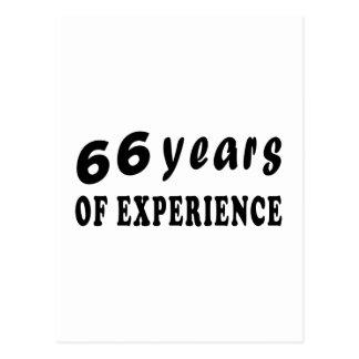 66 años de experiencia postal