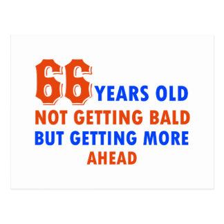 66 años no calvos postal