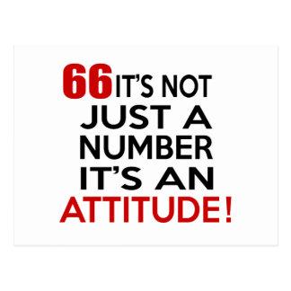 66 no es apenas un número que es una actitud postal