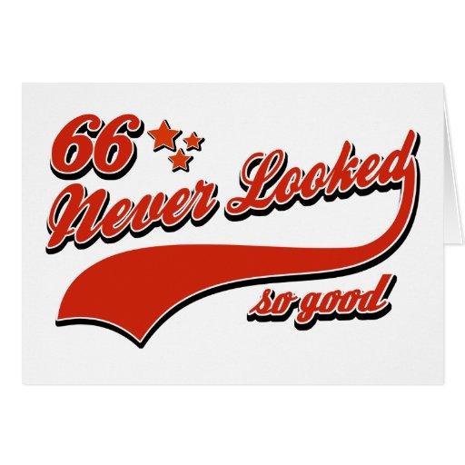 66 nunca parecidos tan buenos tarjetas