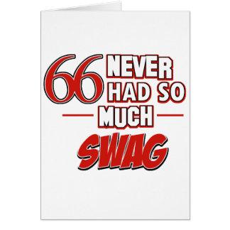 66.os diseños años del cumpleaños tarjetas
