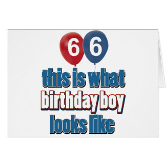 66.os diseños años del cumpleaños felicitaciones