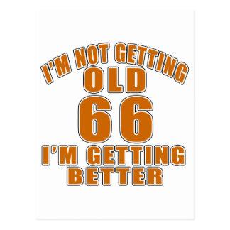66 que estoy consiguiendo mejor postal