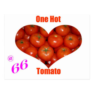 66 un tomate caliente postal