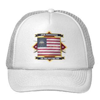 69.o Infantería de Pennsylvania Gorros
