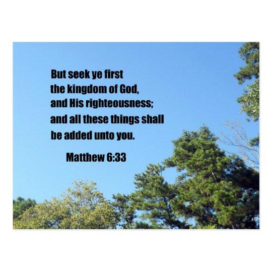 6:33 de Matthew Postal