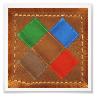 """6"""" x 6"""", decoraciones en el papel de la foto de Ko"""