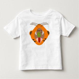 6to Camisa del rugido del tigre del cumpleaños