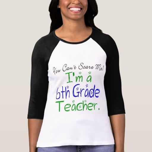 6to Camiseta del profesor del grado