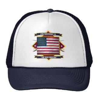 6to Infantería voluntaria de Wisconsin Gorro