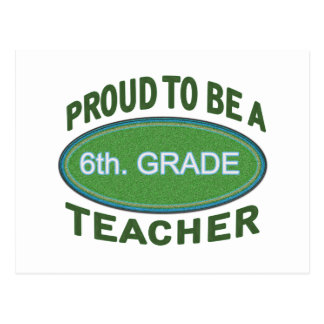 6to orgulloso. Profesor del grado Postal