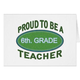 6to orgulloso. Profesor del grado Felicitaciones