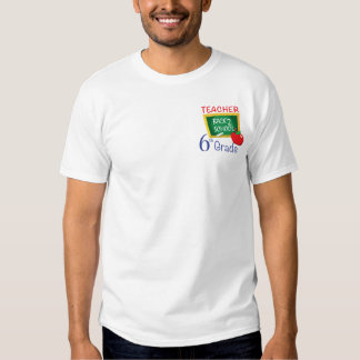 6to Profesor del grado Camisetas