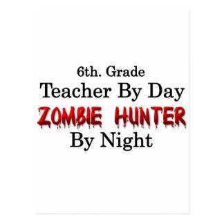 6to. Profesor del grado/cazador del zombi Postal