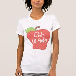 6to profesor lindo Apple del grado Camisas