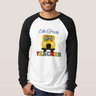 6to Regalo del profesor del grado Camiseta