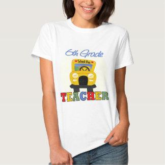6to Regalo del profesor del grado Camisetas