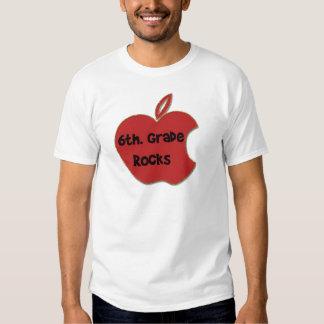 6to. Rocas del grado Camisetas