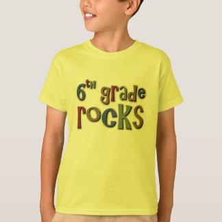 6to Rocas sextas del grado Camiseta