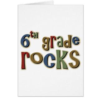 6to Rocas sextas del grado Felicitacion