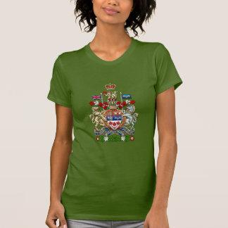 [700] Escudo de armas de Canadá [3D] Camiseta
