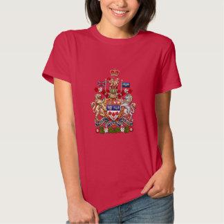 [700] Escudo de armas de Canadá [3D] Camisetas