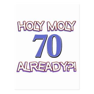 70 años ya postal