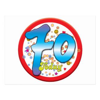 70 o Cumpleaños hoy