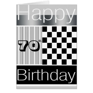 70.o Cumpleaños Tarjeton