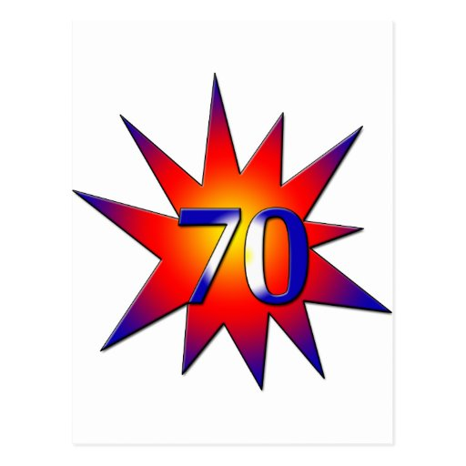 70.o Cumpleaños Postales