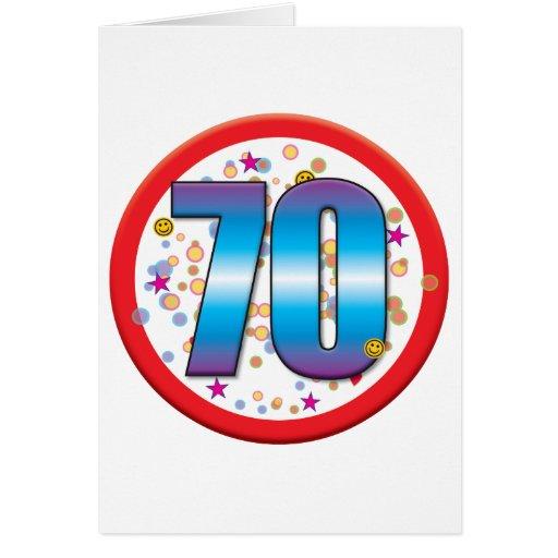 70.o Cumpleaños v2 Felicitaciones