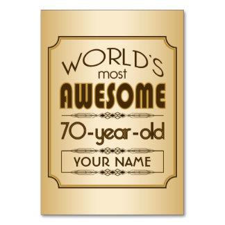 70.o mundo de la celebración del cumpleaños del or