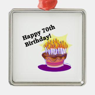 70.o Torta de cumpleaños Ornatos