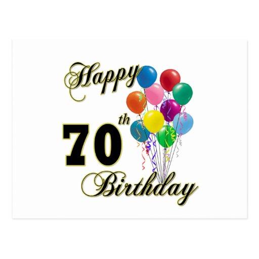 70.os regalos de cumpleaños y ropa felices del cum tarjetas ...