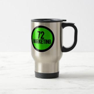 Taza De Viaje 72 tazas aisladas de comercialización de la taza