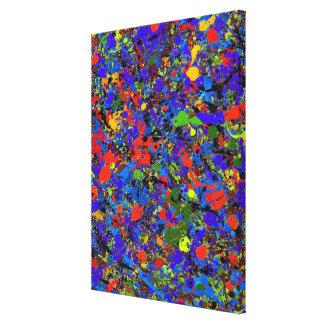 #738 abstracto impresión en lienzo
