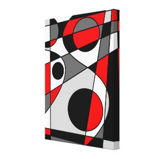 #73 abstracto impresión en lienzo