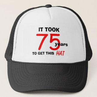 75.o Gorra de los regalos de la mordaza del