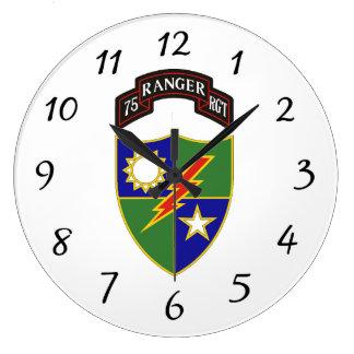 75.o Regimiento de guardabosques - reloj de pared